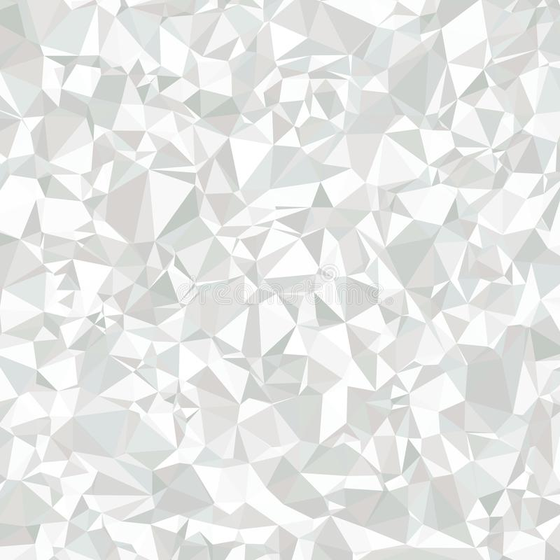 Abstract Polygonal Grey and White Background for Universal stock illustration