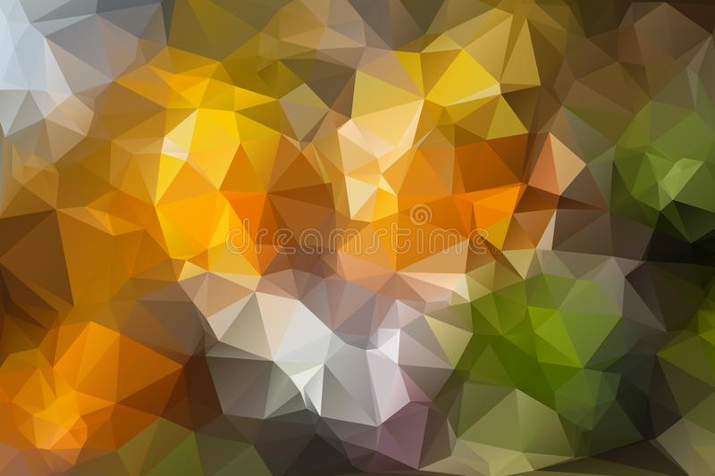 Abstract polygonal mosaic backgrounds. Vector illustration vector illustration