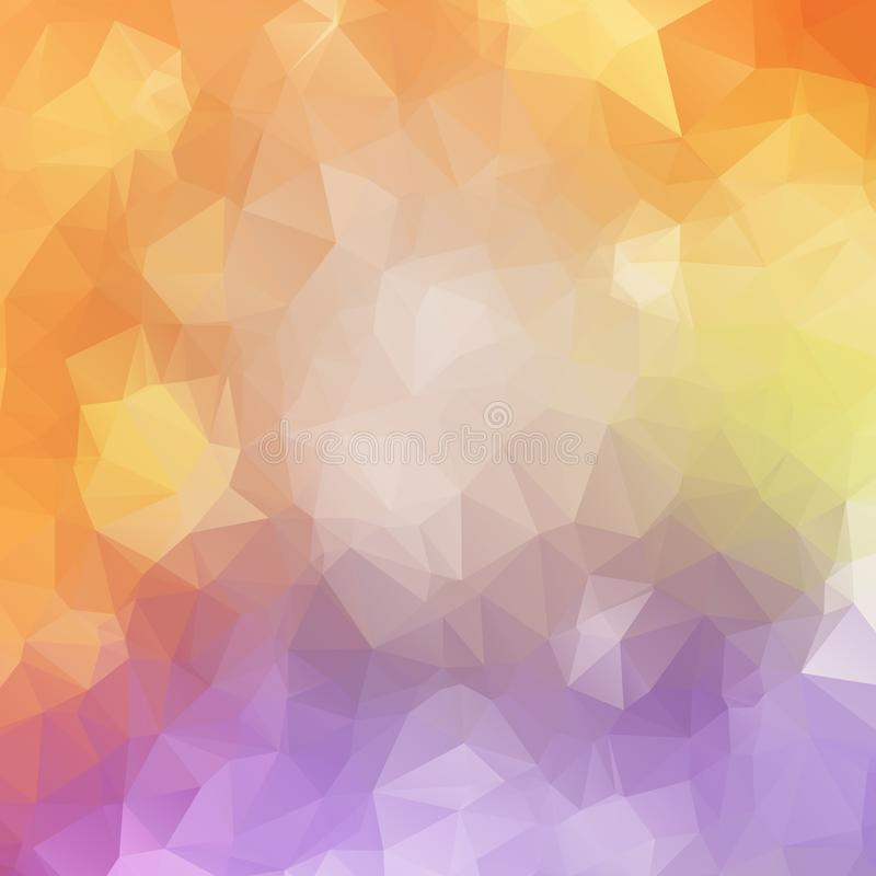 Abstract polygonal mosaic backgrounds vector illustration