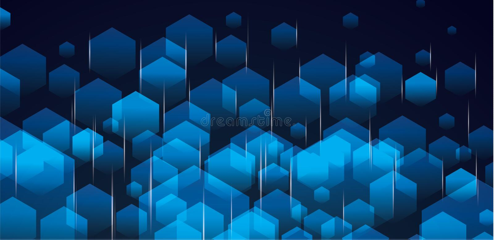 Abstract polygonal space low poly dark background with connecting dots and lines. Connection structure. Fiber royalty free illustration