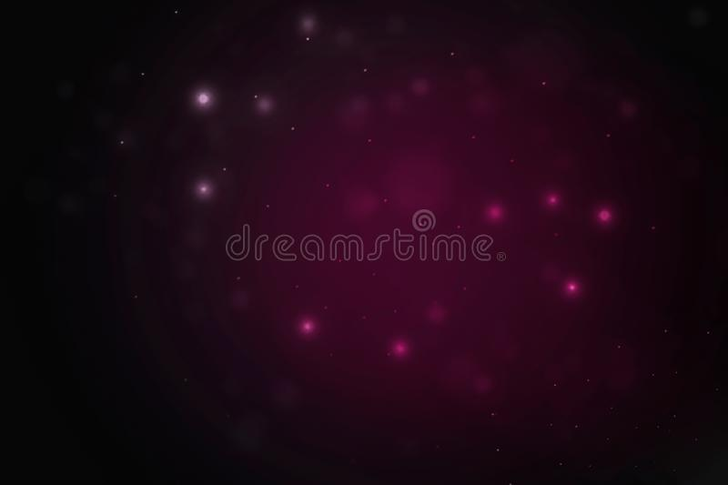 Abstract polygonal space low poly dark backgroundAbstract bokeh background - Illustration vector illustration