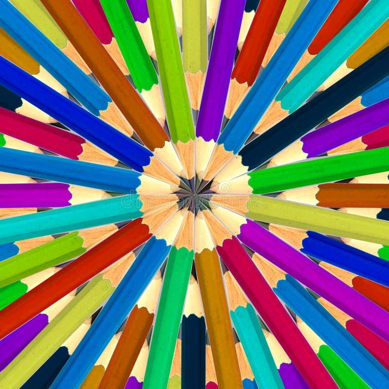 Abstract potlood stock afbeeldingen