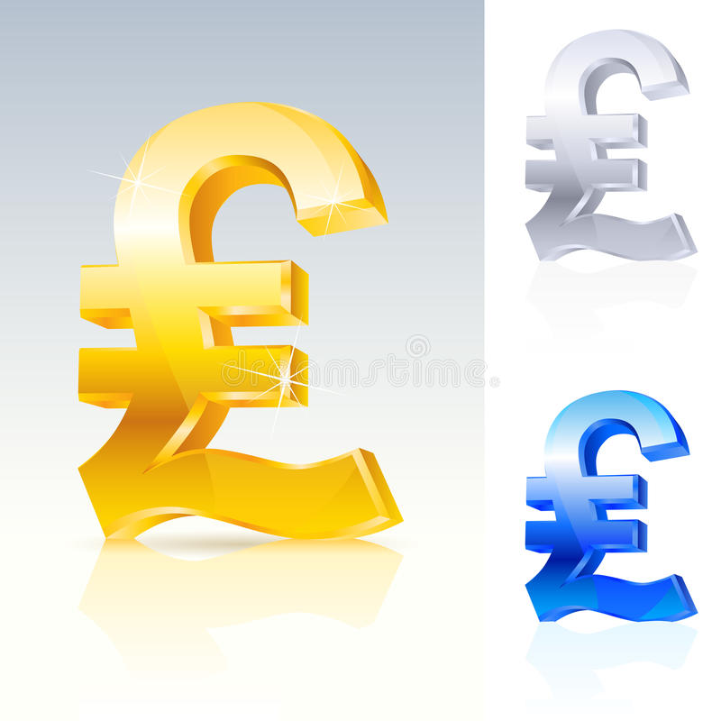 Download Abstract pound sign stock vector. Image of fortune, economy - 22049865