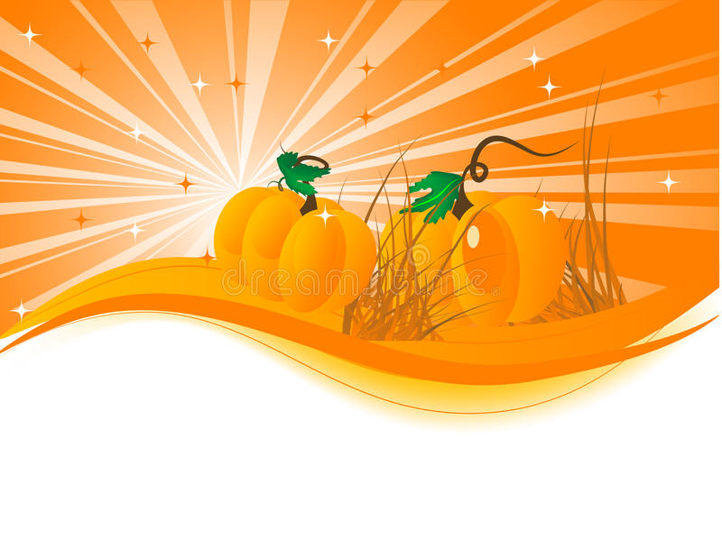Abstract pumpkins