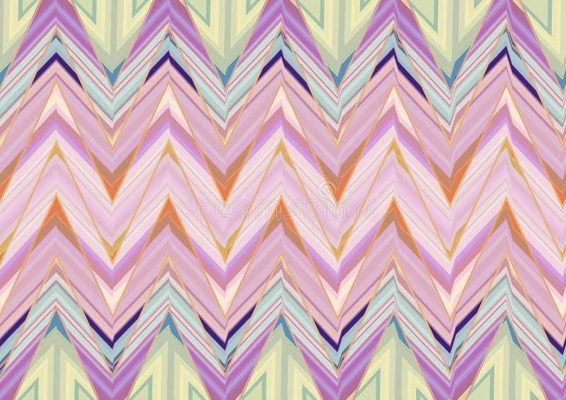 Download Abstract Purper Roze Groen Zigzagpatroon Stock Afbeelding - Afbeelding bestaande uit zigzag, achtergrond: 54078575