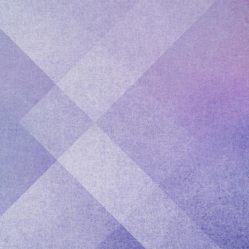 Abstract purple background with geometric layers of rectangels and triangle shapes. Abstract purple background, triangles and angled shapes layered line design royalty free stock images