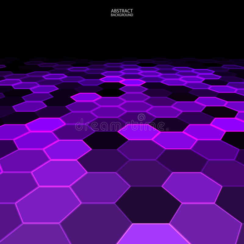 Download Black And Purple Geometric Abstract Background Stock Vector - Image: 34406650