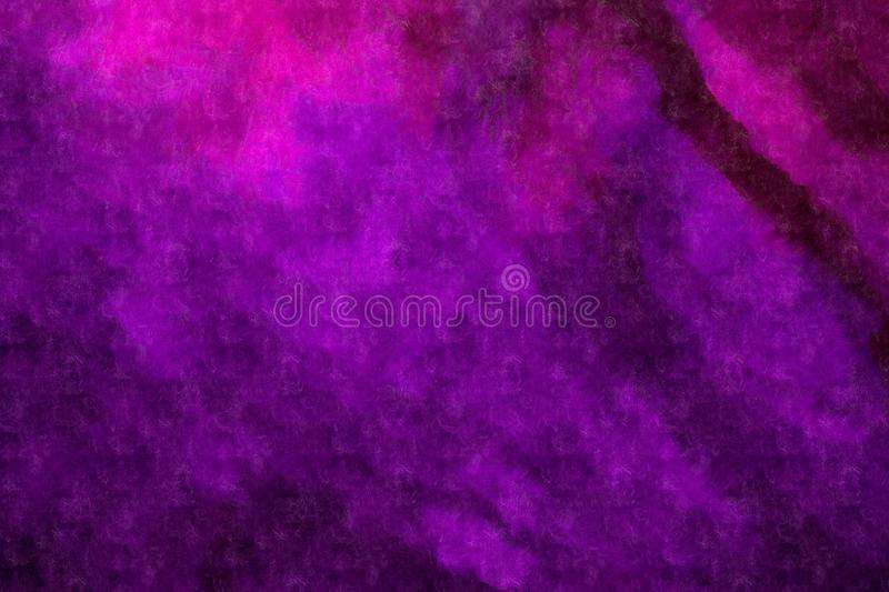 Abstract purple background. Abstract violet background, made with watercolor royalty free stock image