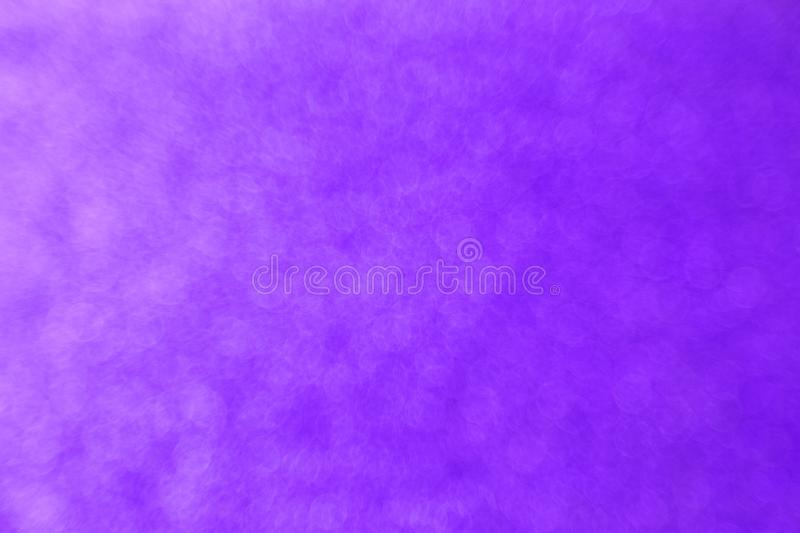 Abstract purple bokeh background for christmas, Celebration concept. stock photo