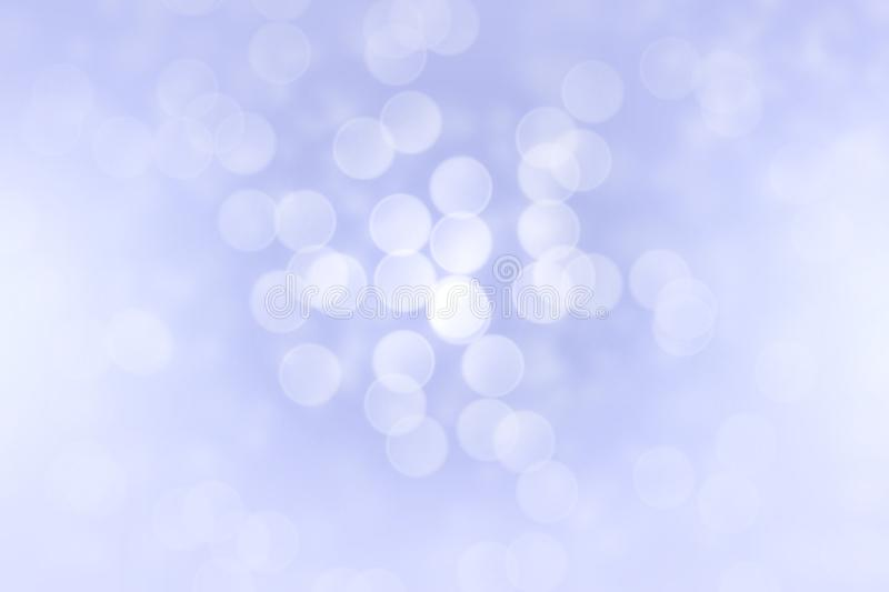 Abstract purple bokeh lights effect, soft blurred background.  stock images