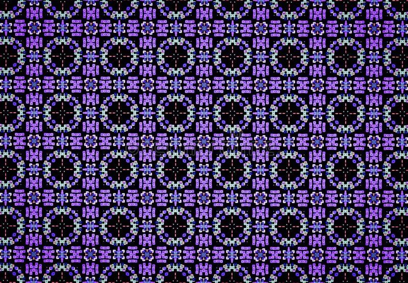Abstract purple color pattern wallpaper stock image