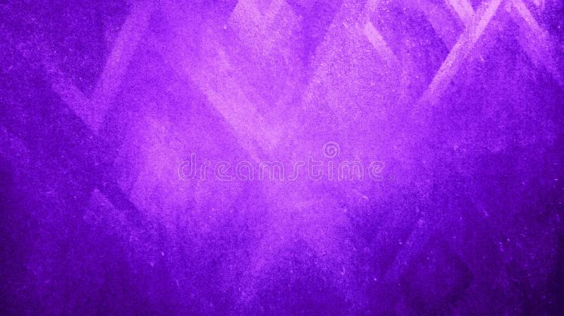 Abstract purple color rough dry sharpness triangles texture reflected on blue paper background wallpaper. Many uses for advertising, book page, paintings royalty free illustration