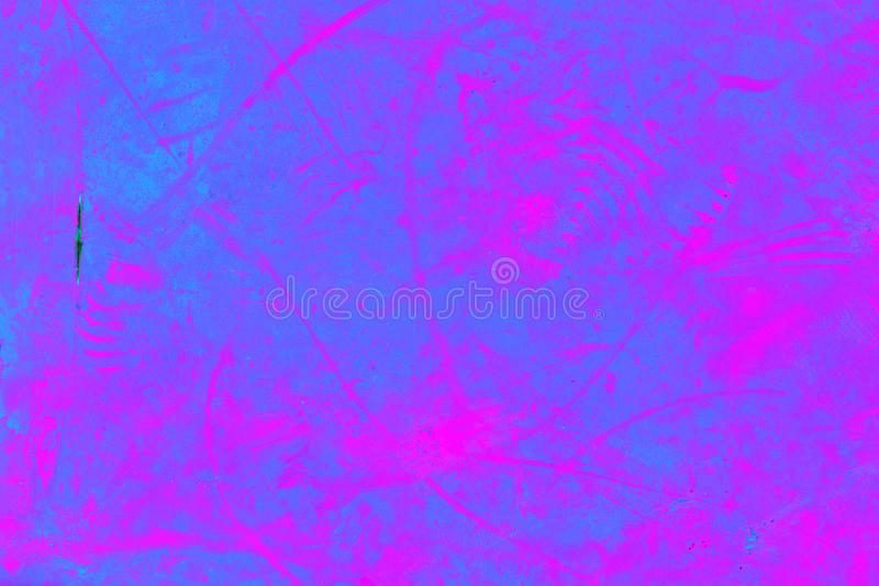 Abstract purple pink background. Paint on iron. Close-up texture stock photography