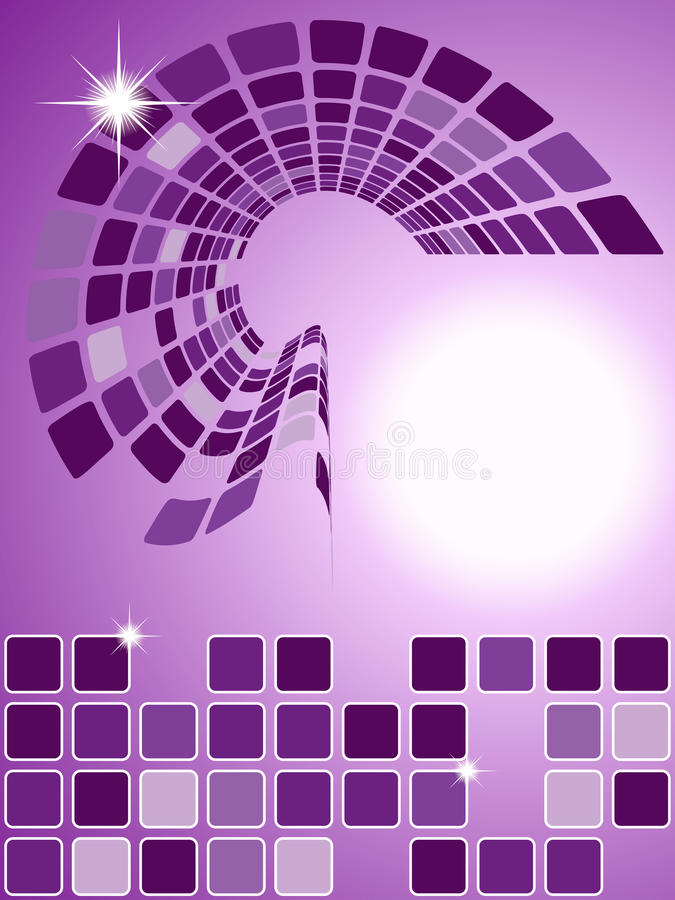Download Abstract Purple Squared Background Stock Vector - Image: 35002570