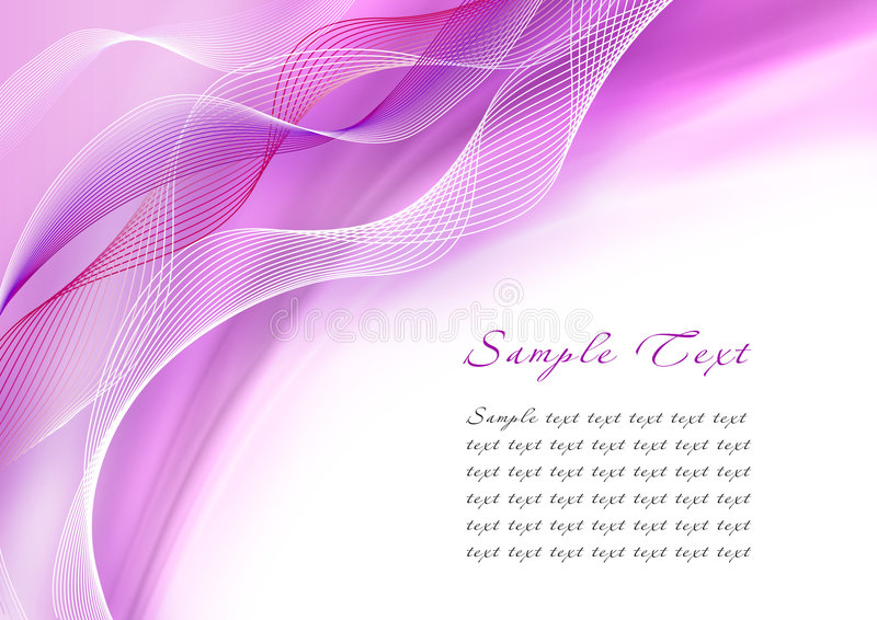 Abstract purple wave vector illustration