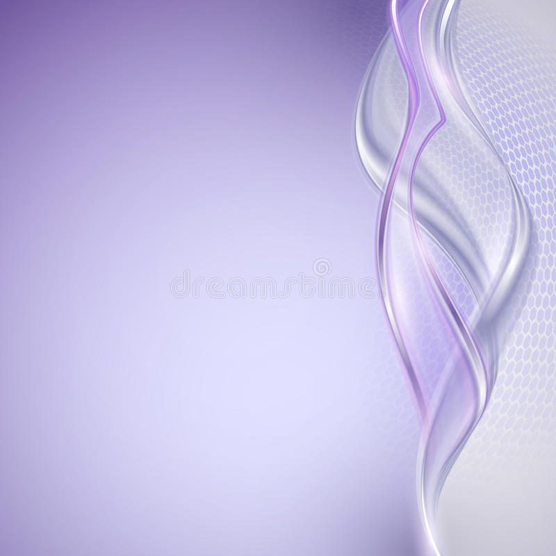Download Abstract Purple Wave Background Stock Vector - Image: 39886176