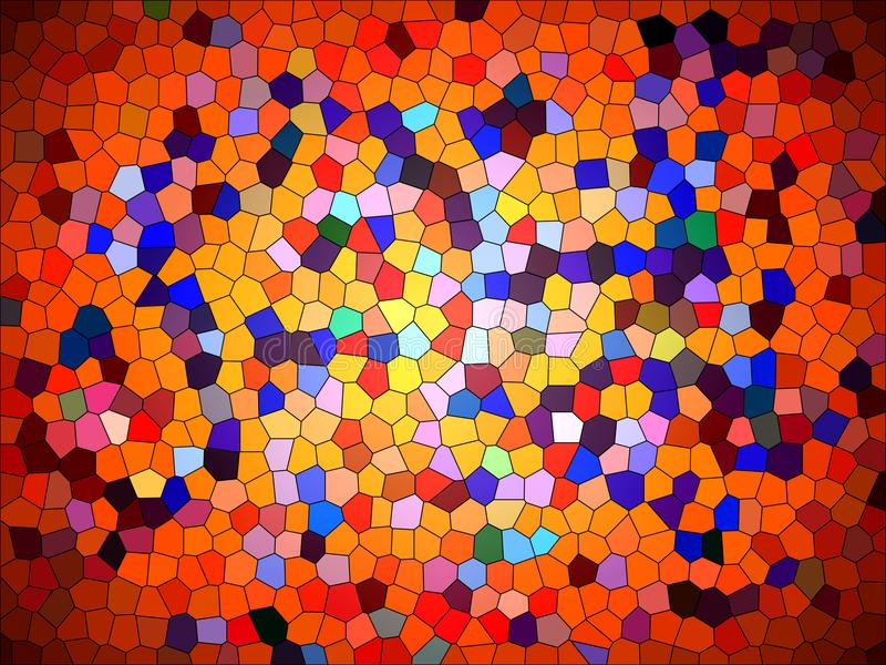 Download Abstract Puzzle Background Colorful Splash Texture Wallpaper Artwork Backgrounds Stock Illustration