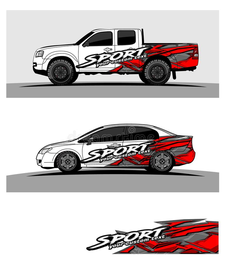 Abstract racing background for truck car and vehicles vector illustration