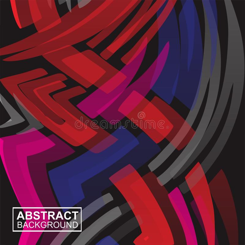 Abstract Racing stripes background full color royalty free illustration