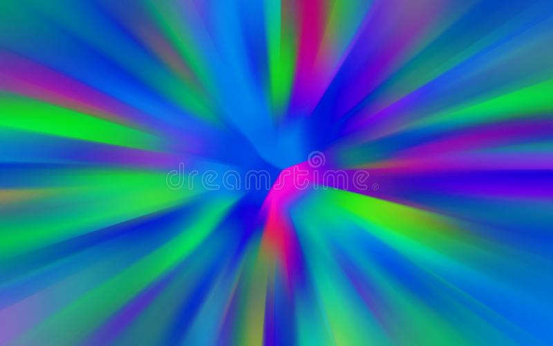 Abstract radial zoom gradient blur stock illustration