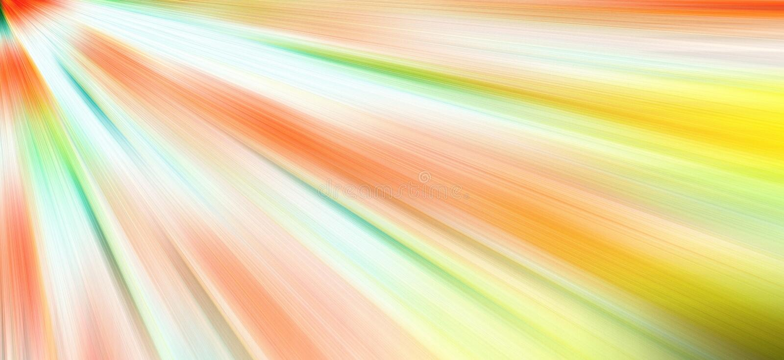 Abstract radial zoom gradient blur. Abstract radial zoom motion design gradient blur stock illustration