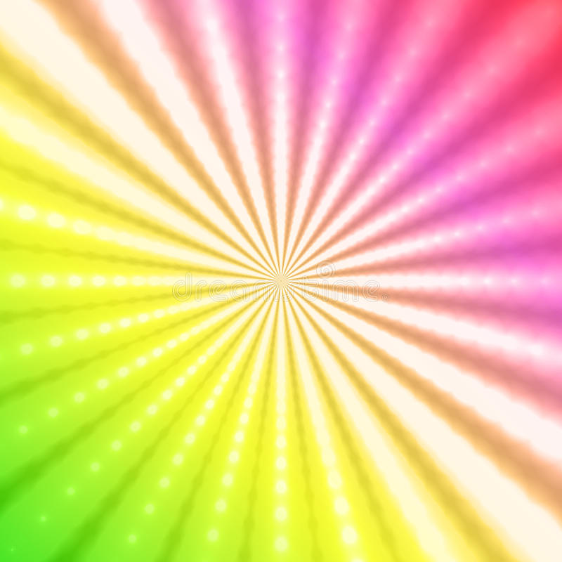 Abstract radiant rainbow background. Abstract gradient background royalty free illustration