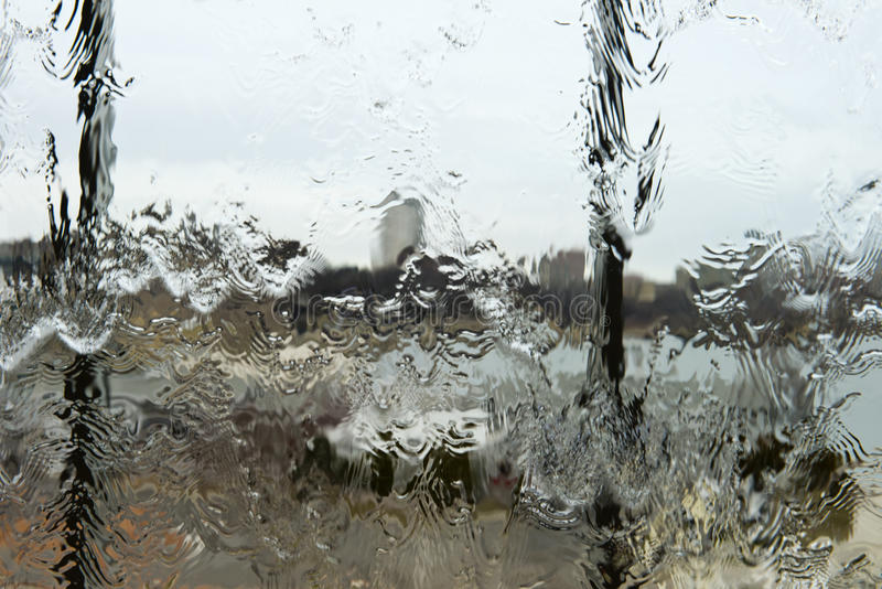Download Abstract Rain Water On Glass Window Background Concept Stock Image - Image of different, fresh: 28736901
