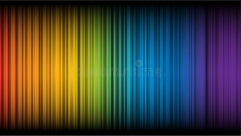 Abstract rainbow stock photos