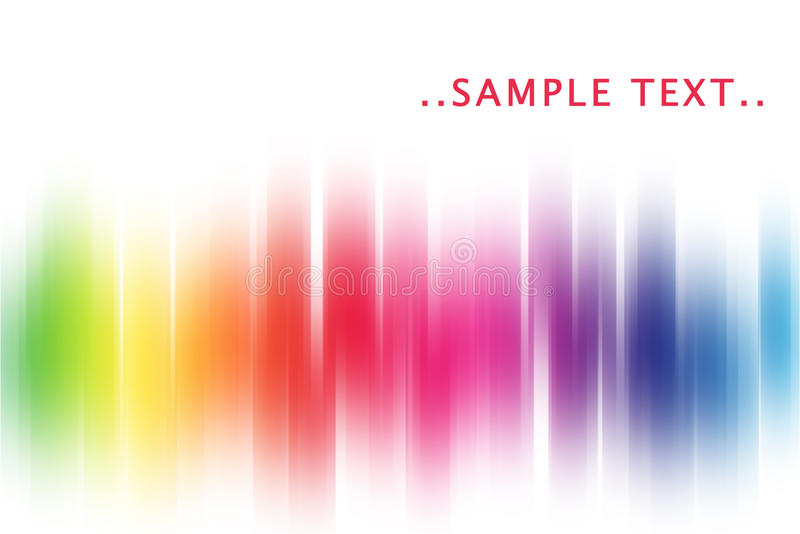 abstract rainbow διανυσματική απεικόνιση