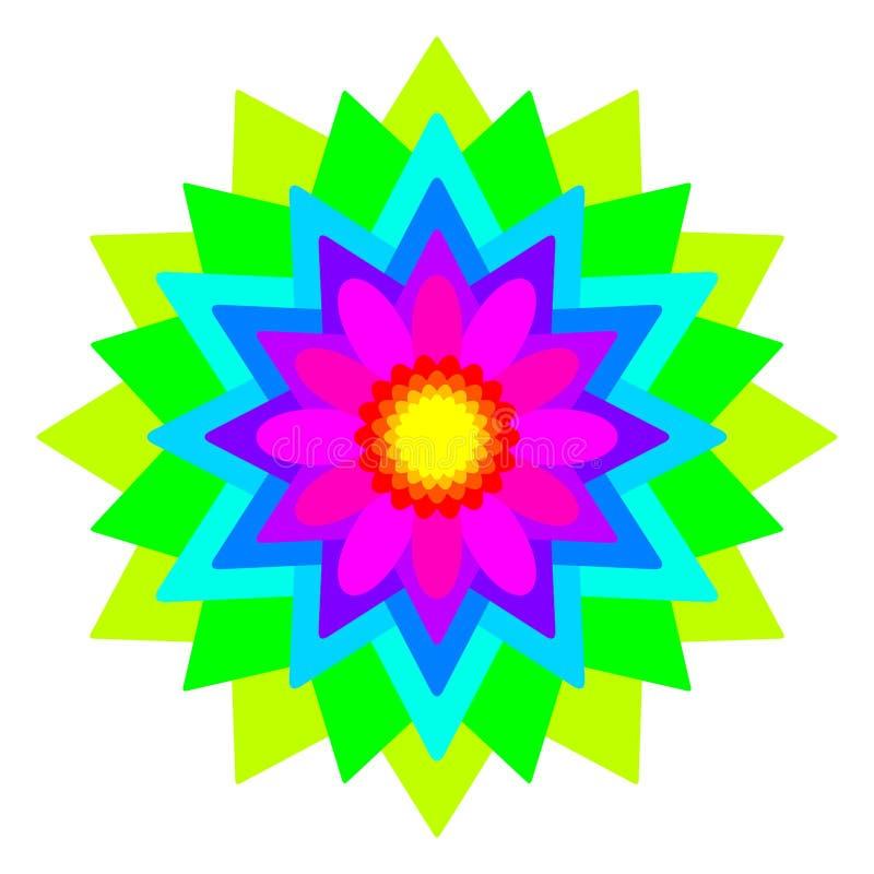 Rainbow Mandala Stock Illustrations – 2,888 Rainbow ...