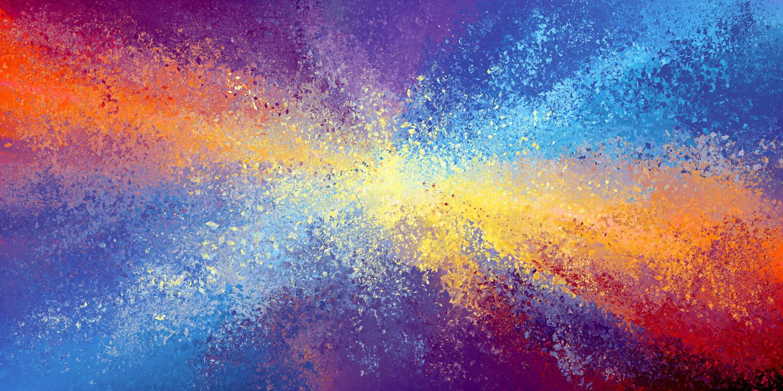 Abstract rainbow colors background royalty free illustration