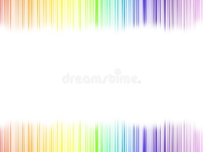 Abstract rainbow colours royalty free stock photos