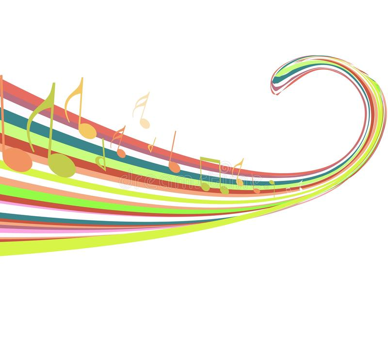 Download Abstract rainbow wave stock vector. Image of rainbow - 13637509