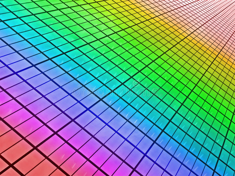 Download Abstract Rainbow Windows Heap, Skyscrapper, Stock Photo - Image: 25904334