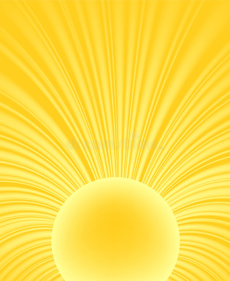 Abstract Ray Of The Sun Stock Images