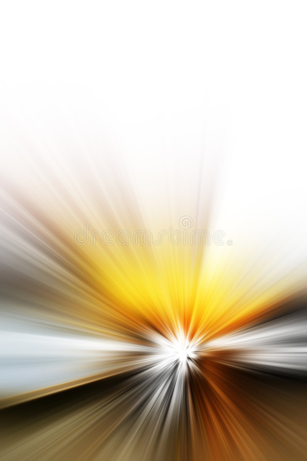 Abstract rays royalty free illustration