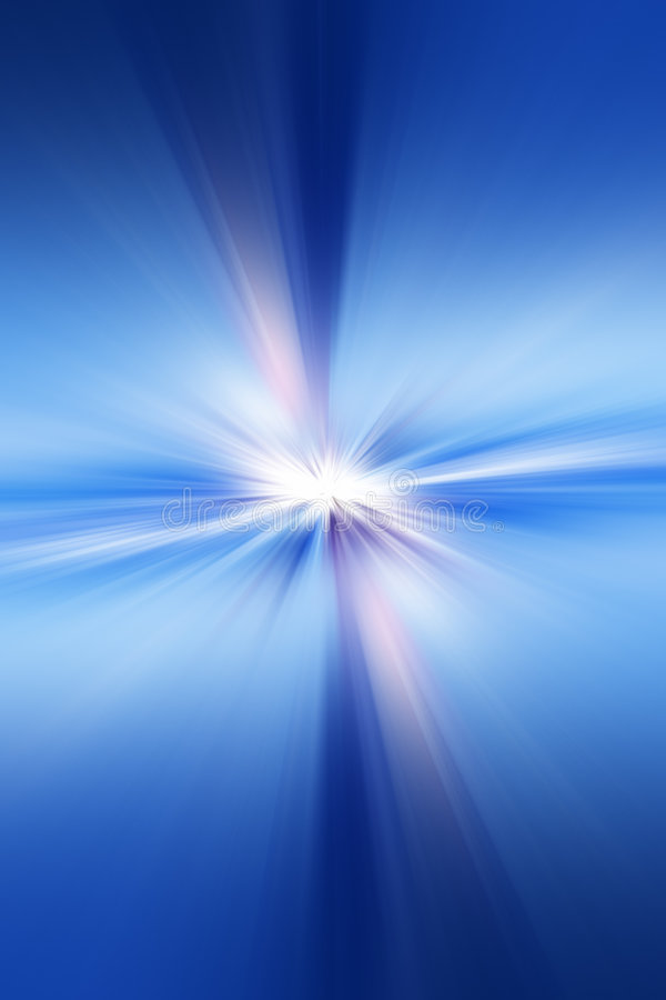 Abstract rays stock illustration