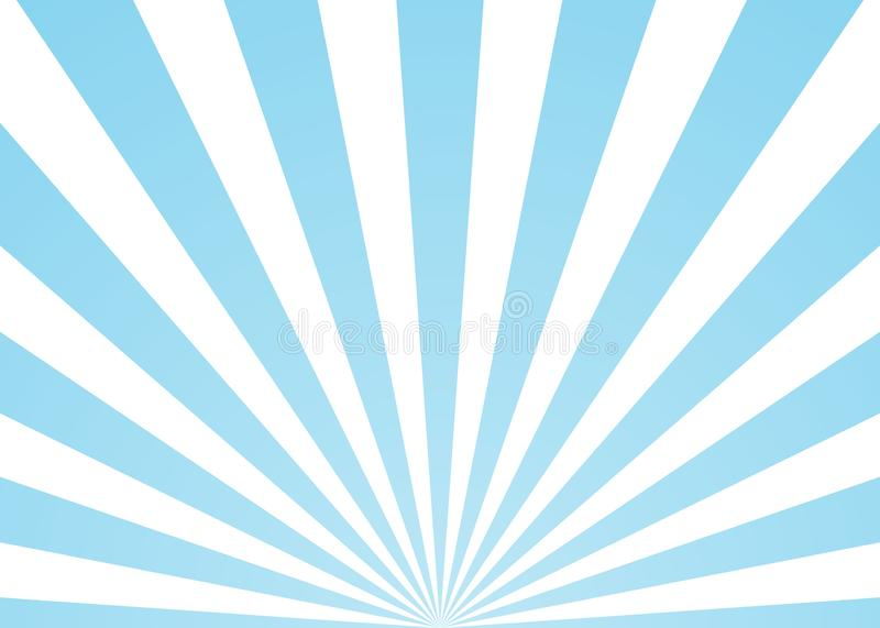 Abstract rays blue background royalty free illustration