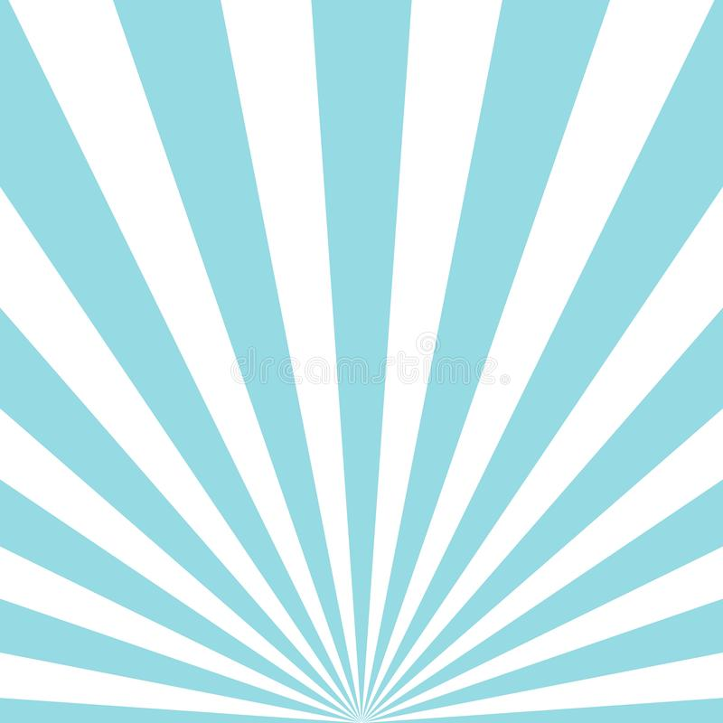 Abstract rays blue background vector illustration