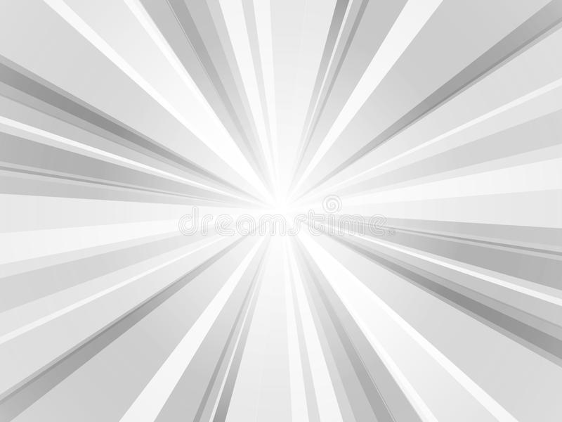 Abstract rays wallpaper gray background stock illustration