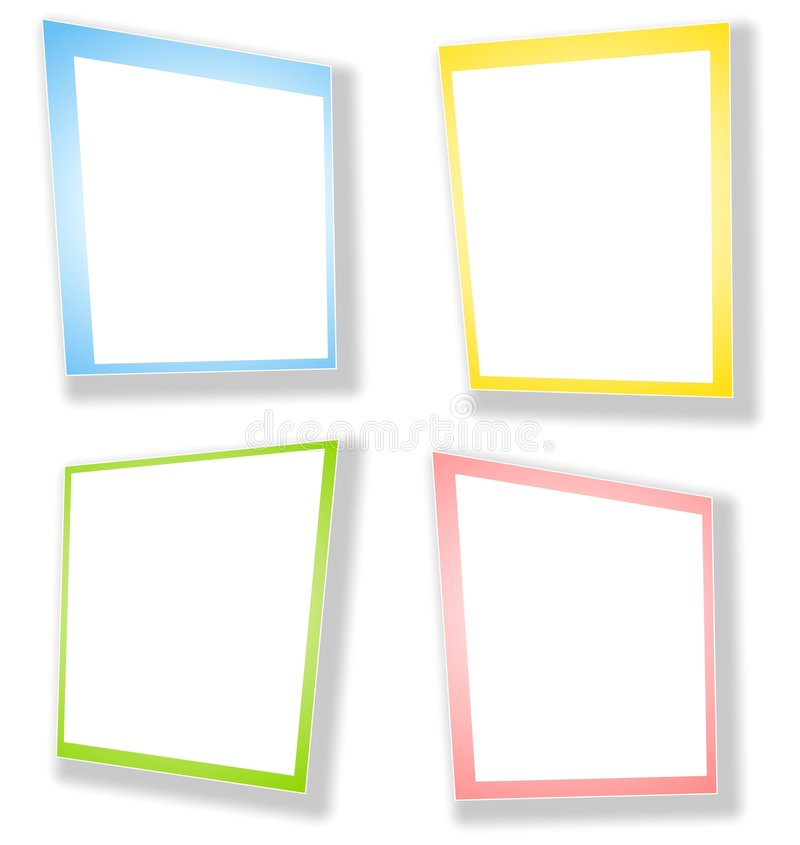 Download Abstract Rectangle Frames Borders Stock Illustration - Illustration: 4026113