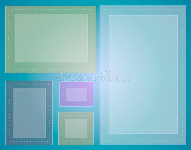 Abstract Rectangles Pattern 2 royalty free stock images