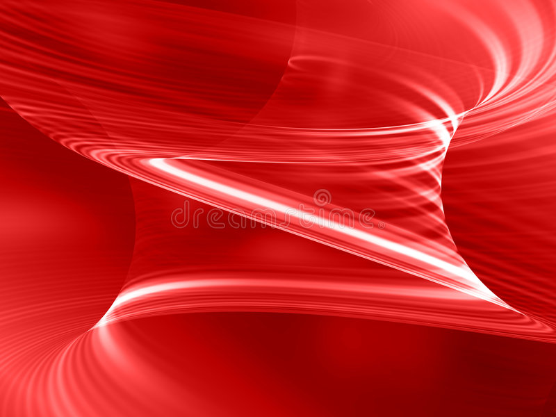 Abstract red background. With spiral white lines