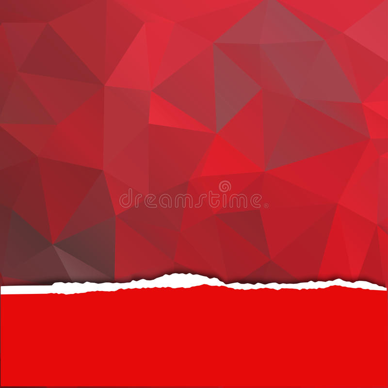 Red Book Cover Pattern : Abstract red background with a polygonal pattern stock