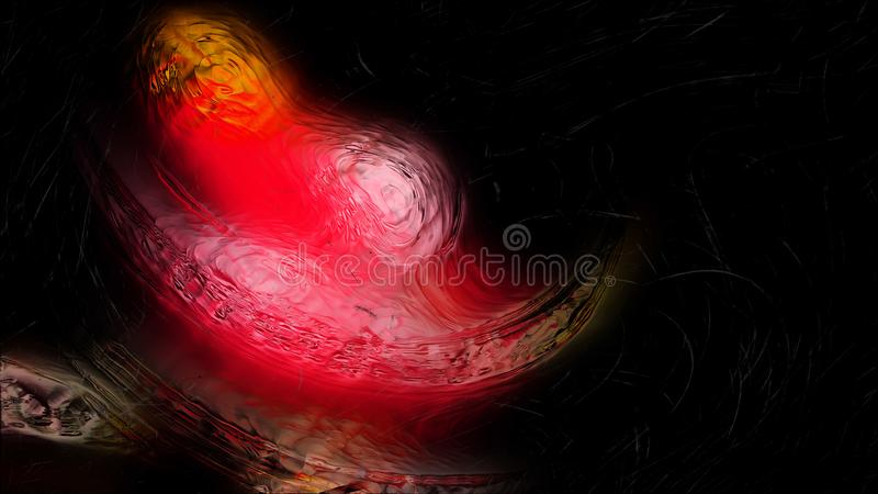 Abstract Red and Black Glass Effect Painting Background Beautiful elegant Illustration graphic art design Background. Image vector illustration