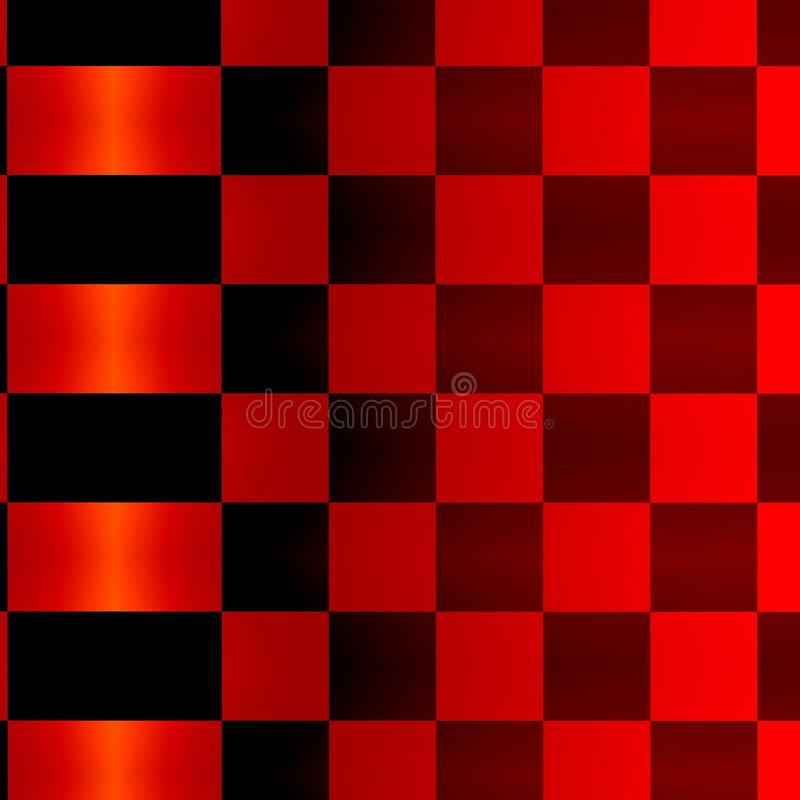 Abstract Red Black Squares Background Pattern stock photos