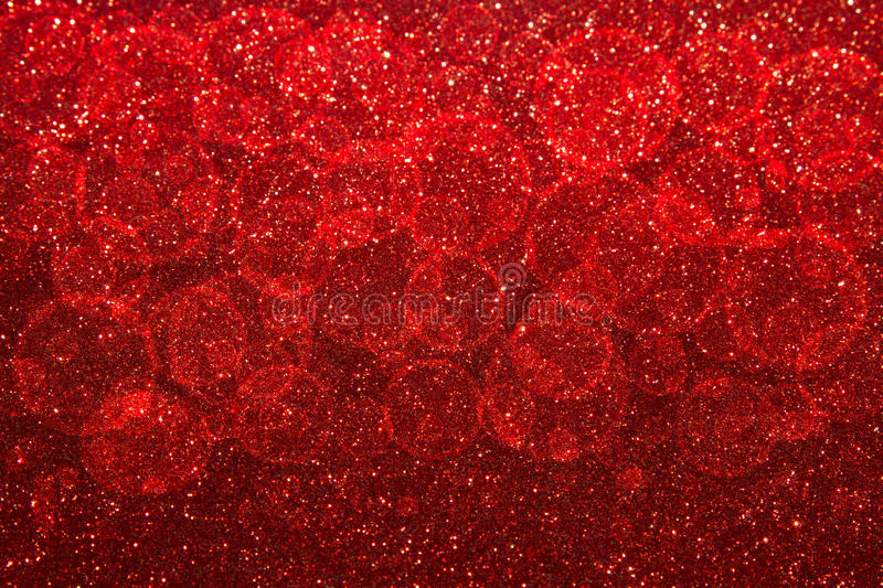 abstract red Bokeh circles for Christmas background, glitter light Defocused and Blurred Bokeh vector illustration