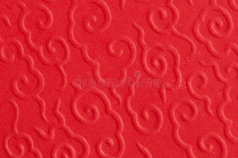Abstract of red chinese pattern. Background stock image