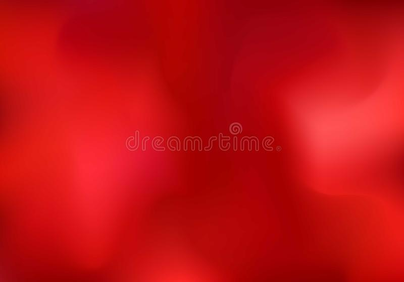 Abstract red cloud or smoke background. Blurred gradient horizontal template You can use for wallpaper, banner web, presentation, stock illustration