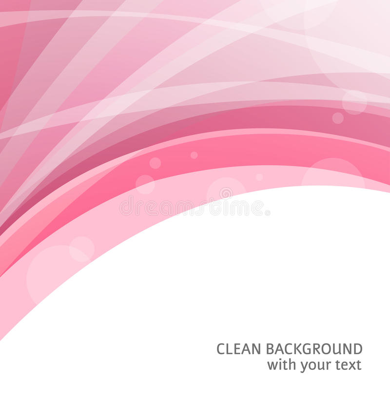 Abstract red curve backgrounds stock illustration